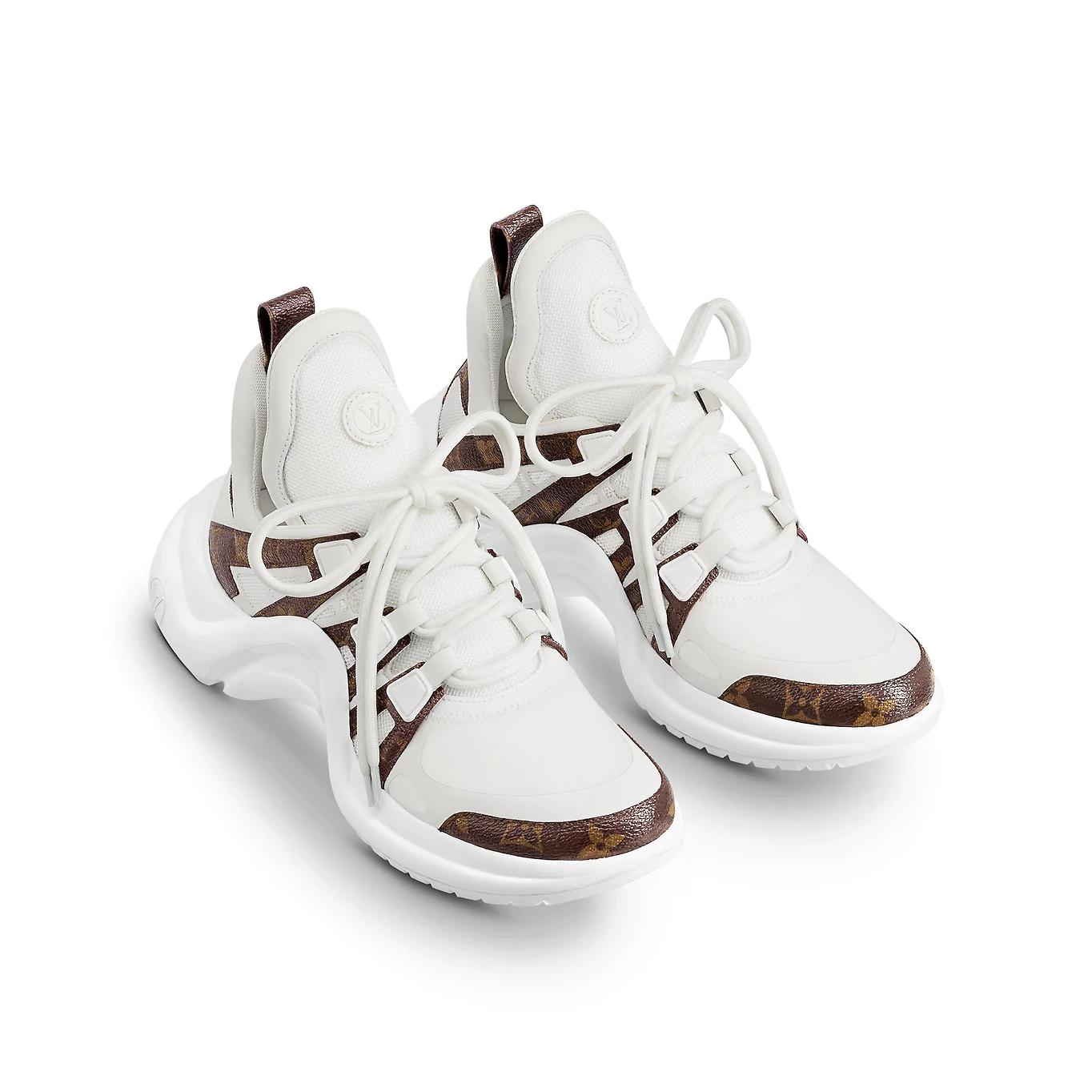 144cf71da25b LV ARCHLIGHT SNEAKER White - Brands Blogger