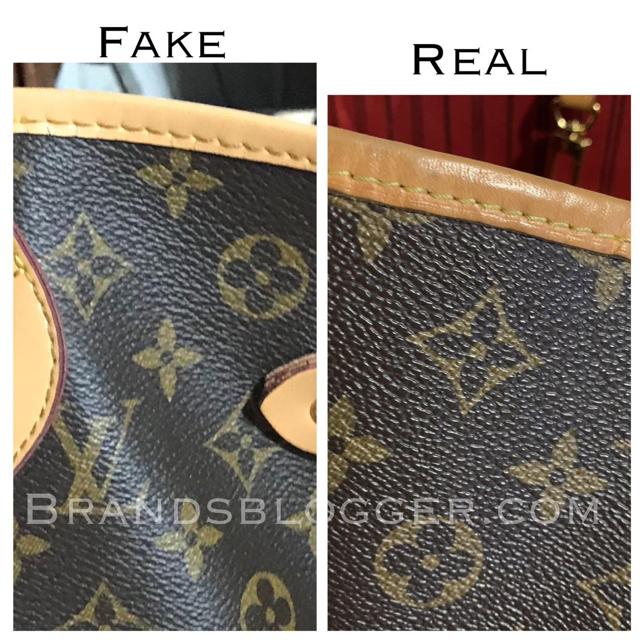 a796a820766a Fake ones usually don t respect this measuring element. I took photos of my real  authentic bag and later to the fake one.