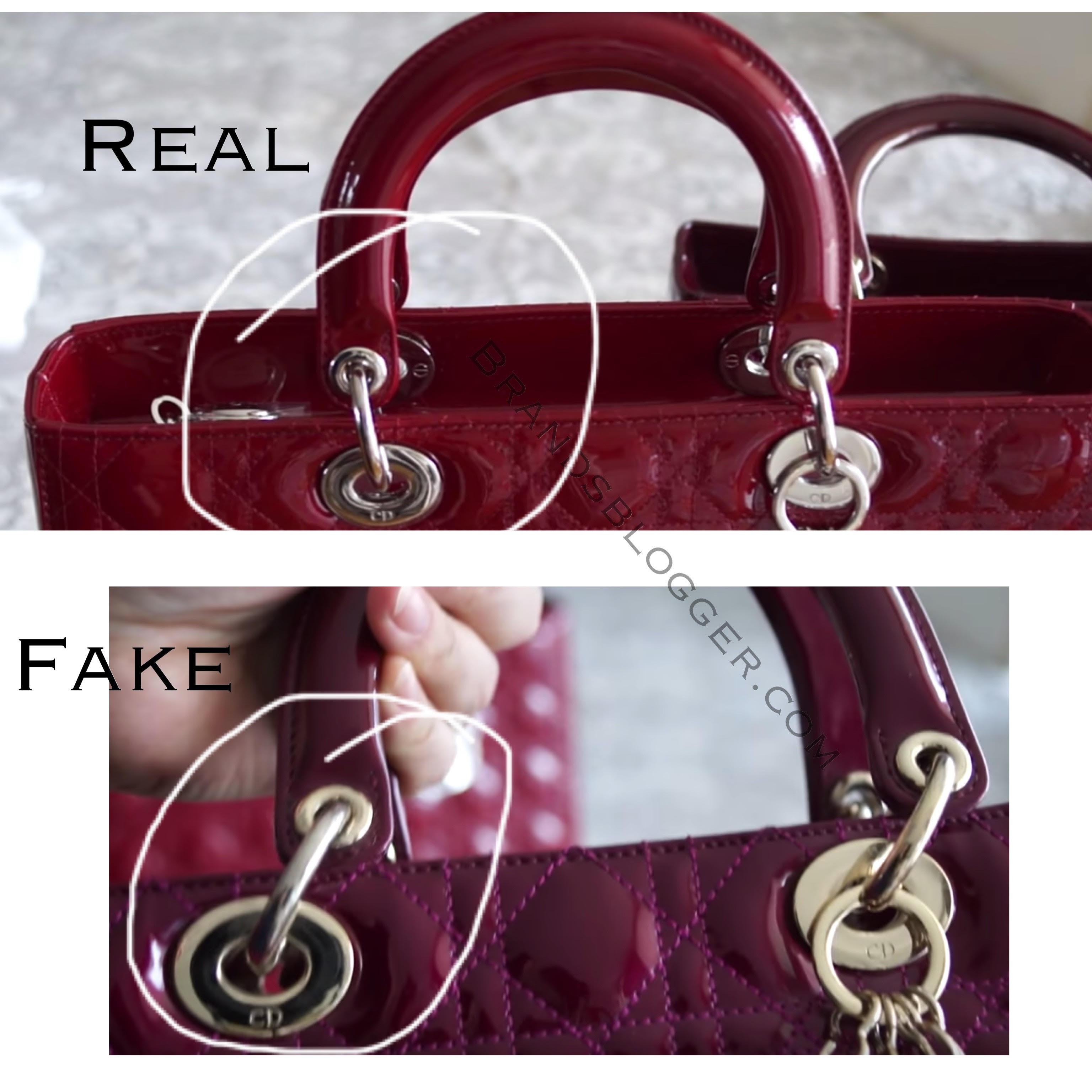How To Spot A Fake Lady Dior Handbag - Brands Blogger fa50c12a80871