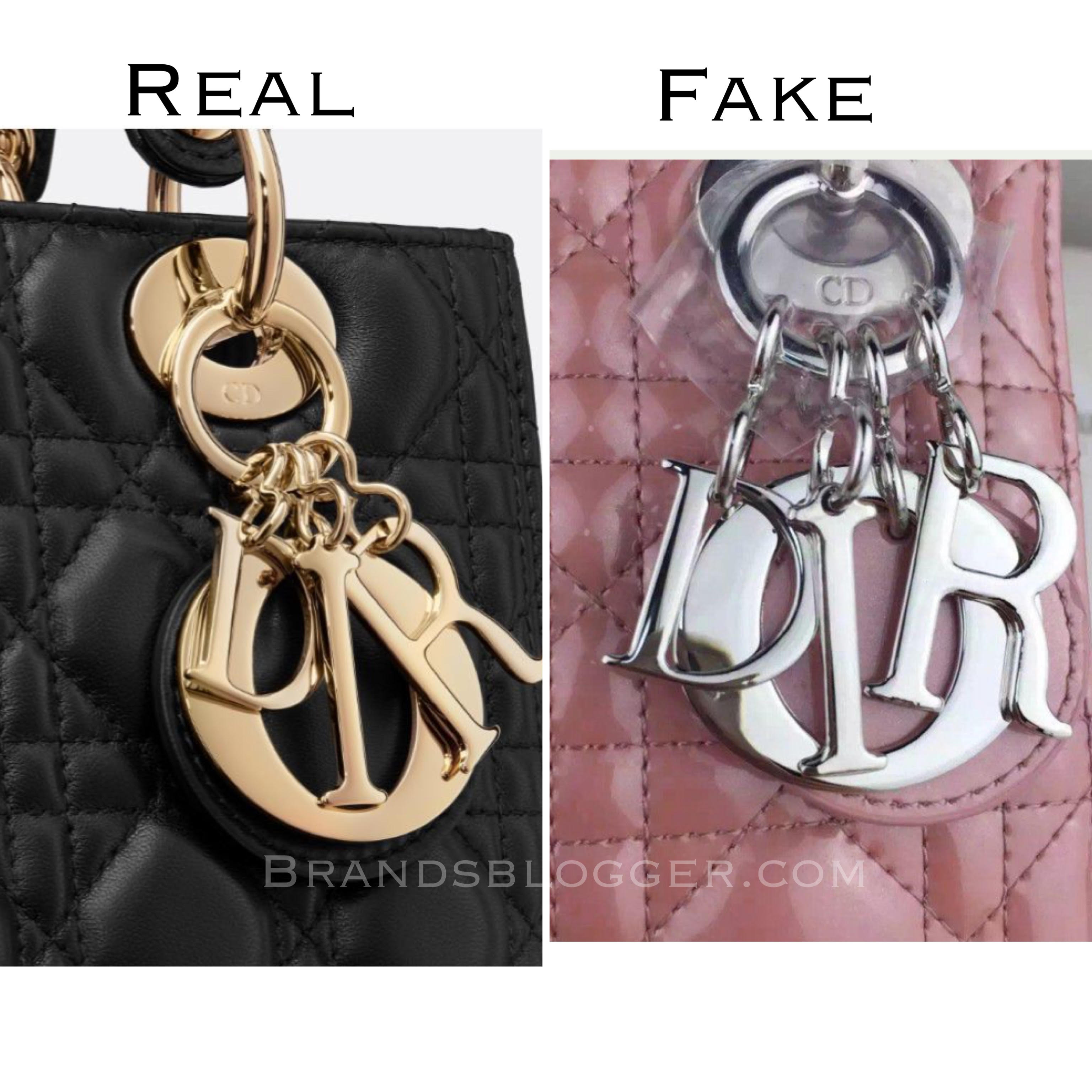 In the original Lady Dior bag is written Christian Dior 62df22c168bc9